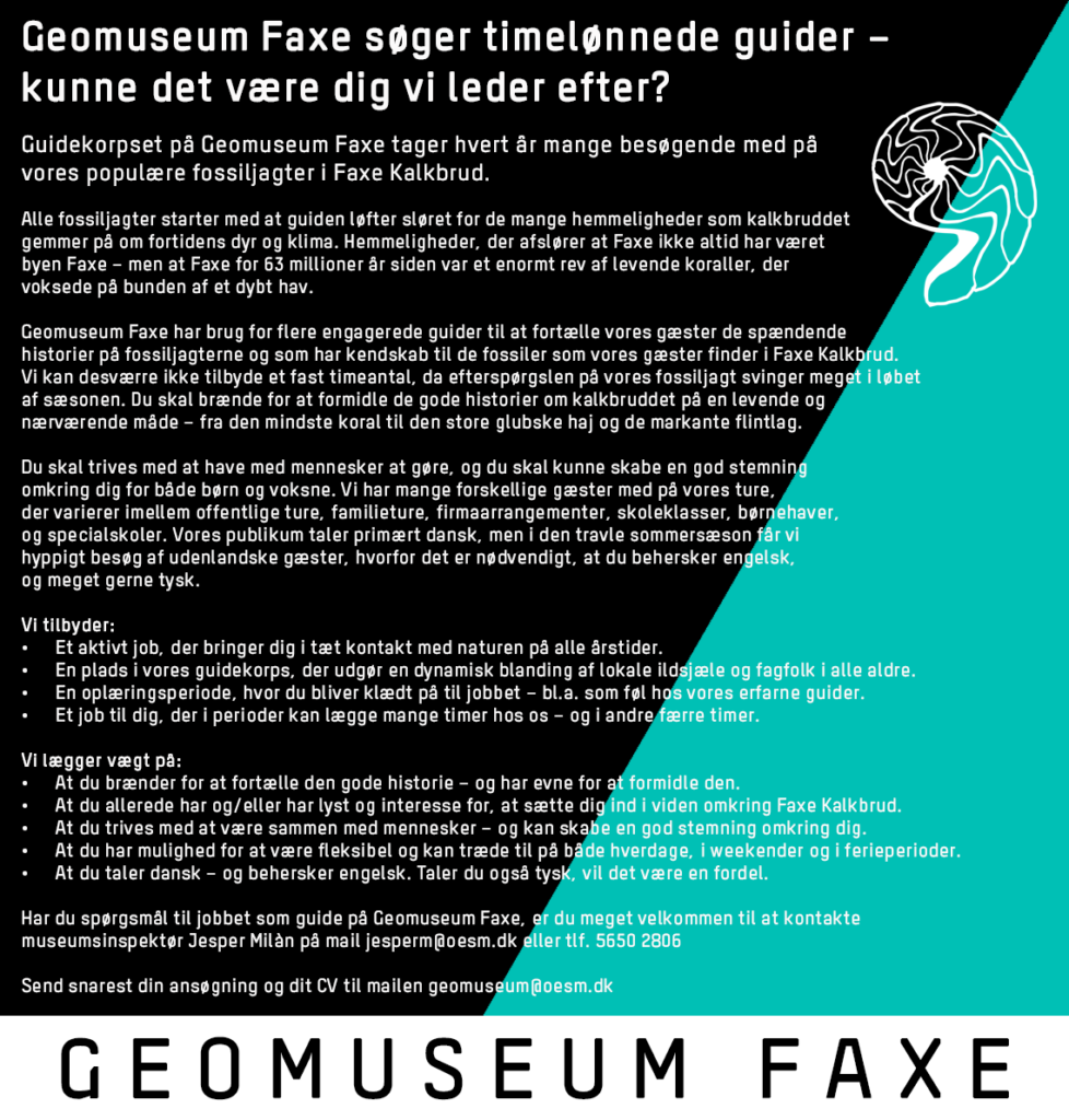 Østsjællands Museum   Koldkrigsmuseum Stevnsfort   Geomuseum Faxe   Kulturmuseum Øst   Stevns Klint