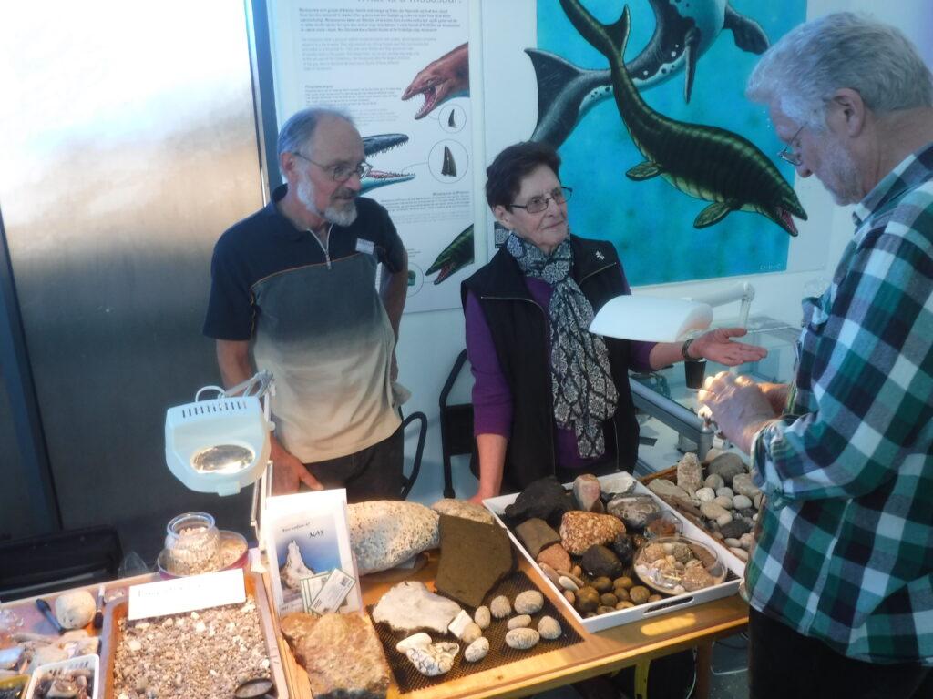 Fossilernes dag på Kulturmuseum Øst 23. september 2021